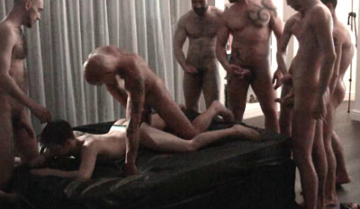 Description London Gangbang Party With Uncut Dicks