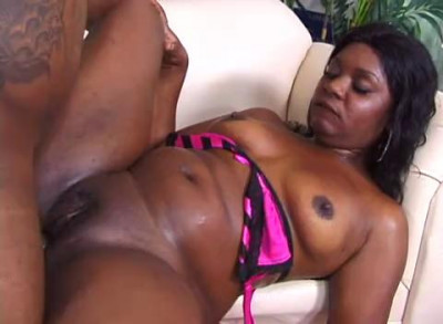 Hot black woman with big delights