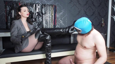 Lady Victoria Valente - Overknee Leather Boots