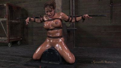 Description Milf tastic Ava Devine, sybian orgasmed out of her mind while brutally
