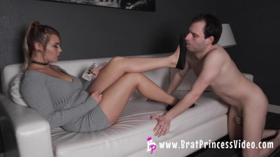 Natalya - Financially Drains Loser Addicted To Stinky Ballet Flats And Feet