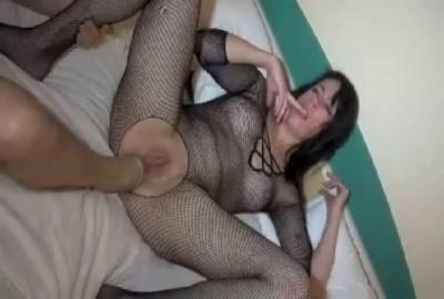 Anal foot & fist fucking slut