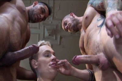 Hard working guys with huge dicks
