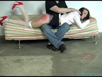 FS - 26 Aug, 2017 - Illustrious Rouge Spanked, Taped, Tongue Clamped - Part 1