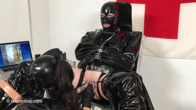 Elise is in charge at the Fetish Clinic – 2 of 3