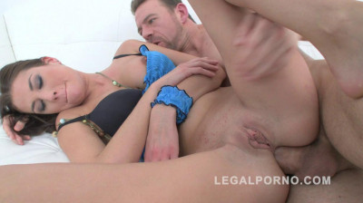 Hot newbie Claire See in first anal fuck