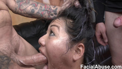 Reluctant Face Fuck