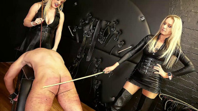 Lady Dark Angel And Mistress Tess - Real Harsh Caning