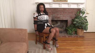 BDSM Bdsm Most Popular Leah J in Chair Tie