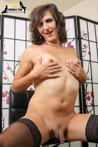 Description Kallie Koxxx Is A Lovable Hormone Breasted Belle
