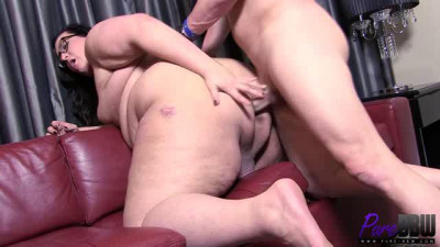 Sophia Marie Big Booty TS SSBBW Gets Banged Hard