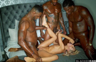 Raw Blacked Orgy – Hime Marie