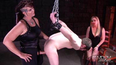 Lexi Sindel and Saharra Huxley Strap-on Interrogation (2018)