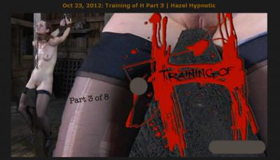 Realtimebondage – Oct 23, 2012 – Training Of H Part 3 – Hazel Hypnotic
