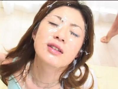 Japanese bukkake satisfaction