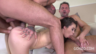Little Anal Whore Enjoys Hardcore Orgy With Double Anal
