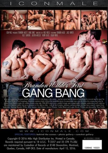 Brandon Wilde's First Gangbang hd