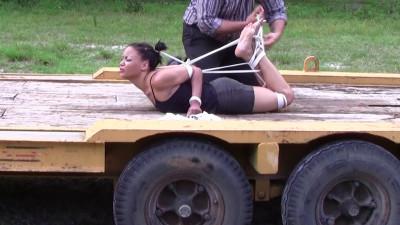 Monica Jade in The Scorpion Tie
