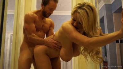 Busty wife fucked in doggy style