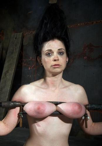 Crush my boobs