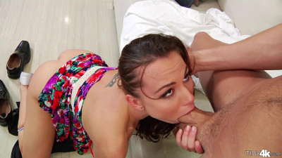 Spanked and Facialed