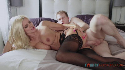 Big Tit Blonde Milf Brittany Andrews Gets Railed By Her Stepson During The Pandemic
