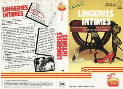 Description Lingeries Intimes 1980(Blue One)