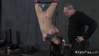 Hard bondage, suspension and torture for horny sexy slut part 1 HD 1080p