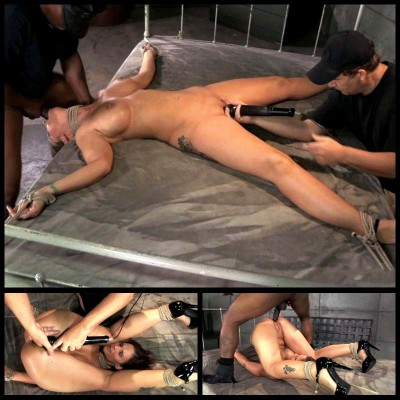 Tied Down & Fucked Without By Mercy (26 Sep 2014) Sexually Broken