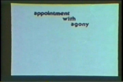Description Appointment with Agony