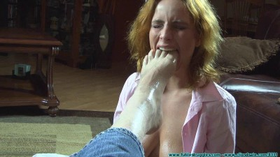 He Throat Fucked Me with His Feet Then Left Me Hogtied 1 part — BDSM,Humiliation,Torture HD 720p