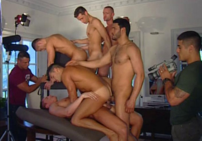 Description Raw orgy with model scouts