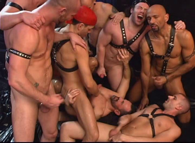 Description Dark Alley Media – Leather Punks Orgy(2006)