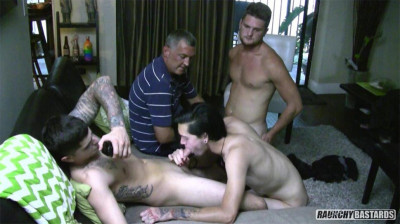 RaunchyBastards I Knew He Was Gay - Straight Boys Become Cocksucking Bitches