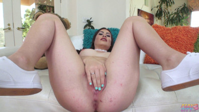 Latina Teen Veronica Valentine Is Horny And Masturbates