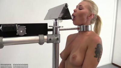 Super bondage, torture and hogtie for beautiful blonde