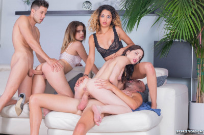 College Girl Orgy With BCN