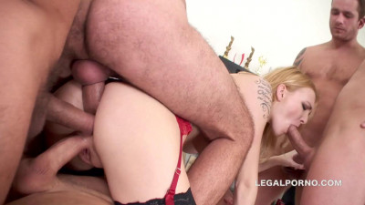 Belle Claire Triple Anal Penetration GIO148