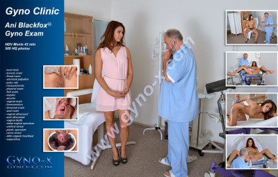 Description Ani Blackfox (24 years girl gyno exam)