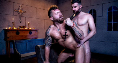 Raging Stallion - The Night Riders - Woody Fox & Riley Mitchel (720p)
