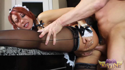 Ava Devine in Maid Revenge with Zeb Atlas
