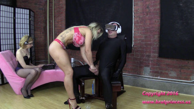 Cali And Lola - Ruined Four Times And Fed Cum While Under Voice Control