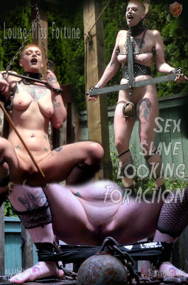 Sex slave Looking For Action - Louise Miss Fortune - Full HD 1080p