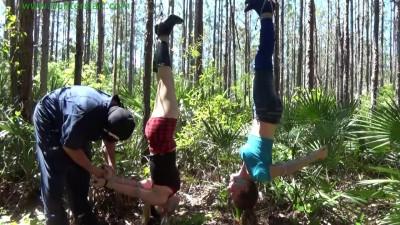 Lexi Lane, Nicole Peters - Forest Bondage Nymphs