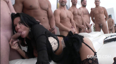 Description Veronica Avluv Enjoys Hardcore Anal Orgy With Double Anal