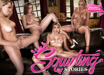 Zoey Monroe, Luna Star, Natalia Starr, Lena Paul - Squirting Stories Volume Two Squirt Bukkake 1080p