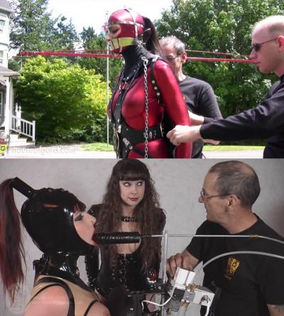 Super bondage, domination, predicament and torment for hot girl