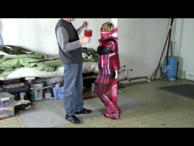 Catsuit Caught and Wrapped