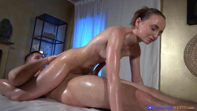 slow oily massage fuck