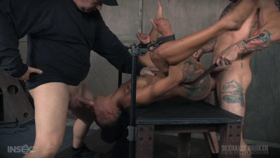 Nikki Darling Destruction continues in part 3